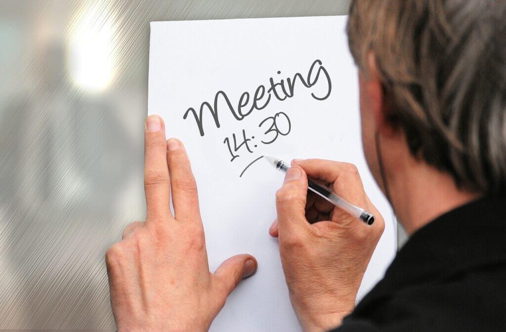 解決策はミーティング参加